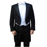 Barathea White Tie Tailcoat - 175
