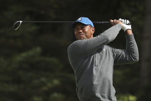 tiger woods at the british open 2019 location of super