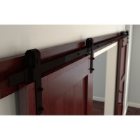 Decorative Barn/Sliding Door Hardware  Oil Rubbed Bronze ...