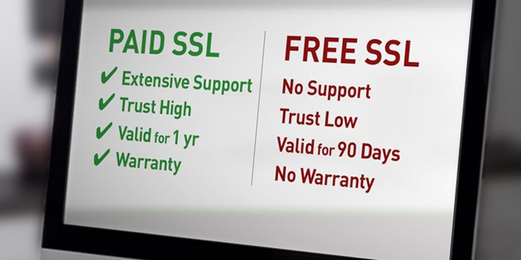 Free vs Paid SSL Certificates Which should you choose?