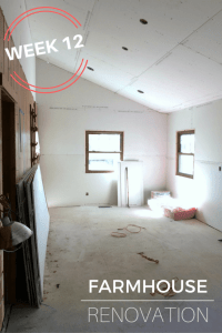 Farmhouse Renovation Week 12 (The Kitchen and Laundry Room ...