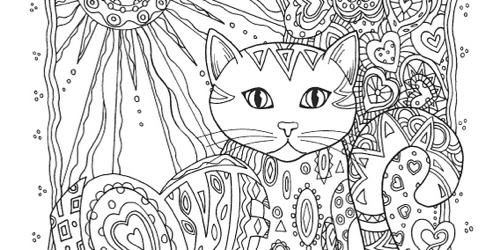 Haven Creative Cats Coloring Book Creative Books