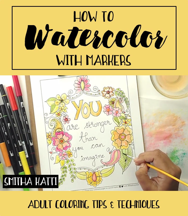 Adult Coloring Tutorials Tips Amp Techniques For Adult Coloring Books