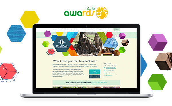 Our \u0027Bold\u0027 Project for Bold Park Community School wins a web award - bold project