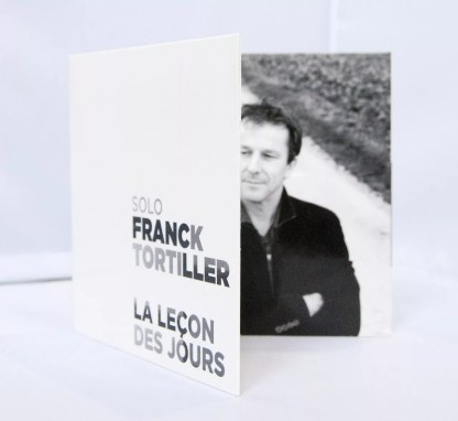 Franck Tortiller | Conception et fabrication packaging Album CD + Visuel promo