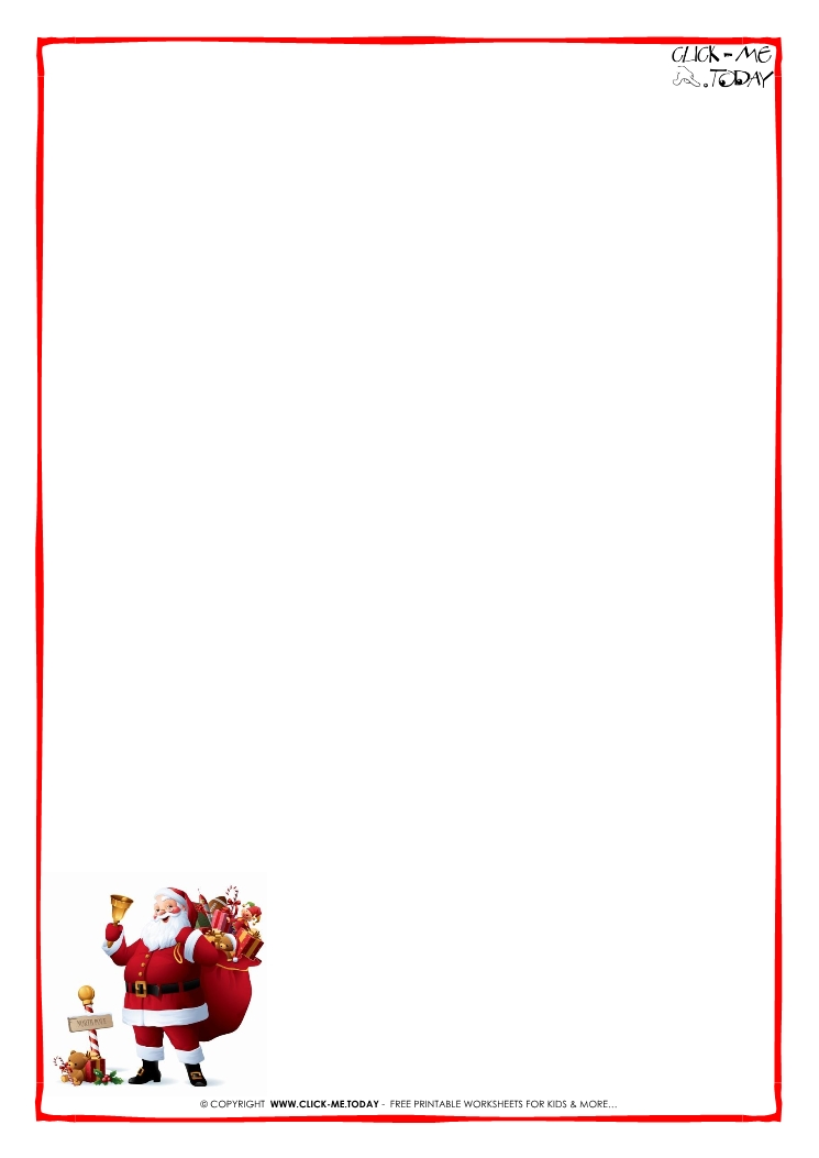 free printable letter borders - Onwebioinnovate - paper border templates