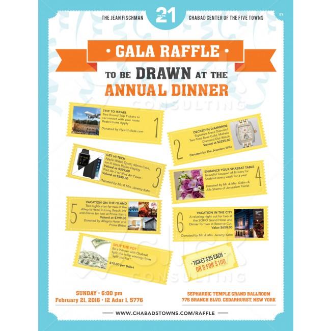 Raffle Flyer - Raffles  Auctions - Fundraising Click Design Base