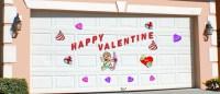 Door Delights Valentine Magnetic Decoration Set For Garage ...