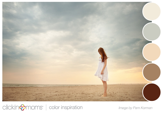 Soothing Beach Color Inspiration - Clickin Moms