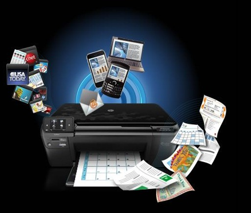 Web Enabled Printers - Print Documents by Sending an Email from