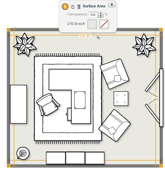Design Virtual Home Office, Living Room Interior Online on Computer - office designer online free