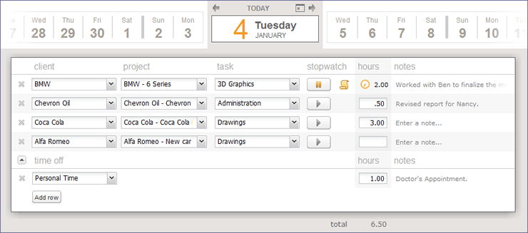 Pacific Timesheet Timesheet Software And Expense Free Timesheet Calculator Online Time Tracking