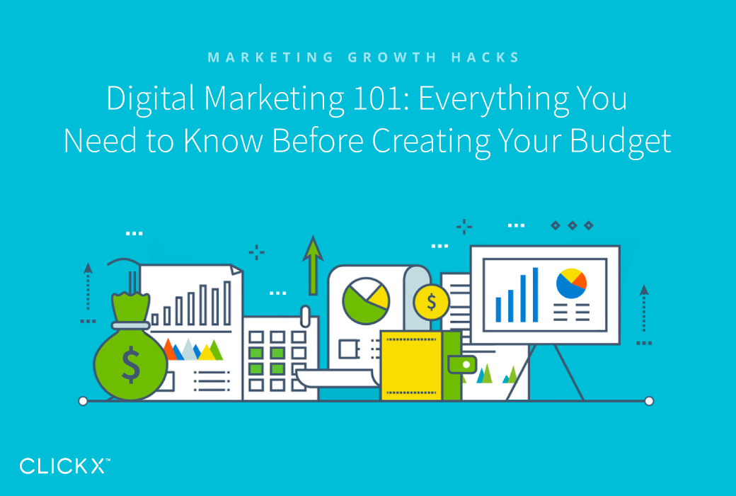 Digital Marketing 101 Everything You Need to Know Before Creating - creating a budget