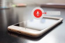 voice search using a phone