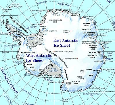 Map of Antarctica For the Kids Pinterest Antarctica and - best of world map true country size