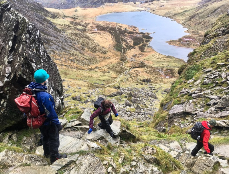 Guided Walking day in Snowdonia