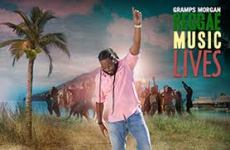 "GRAMPS MORGAN RELEASES ""REGGAE MUSIC LIVES"" AS HIS LATEST SOLO PROJECT!"
