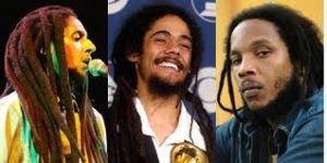 Julian, Damian, Stephen Marley