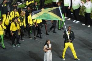 UsainBolt:flagbearer