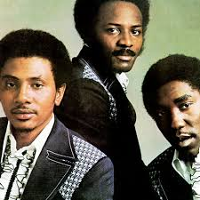 The O'Jays: L-R Winston Powell, Walter Williams, Eddie LeVert 1972