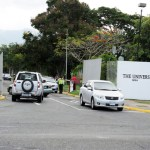 Entrance to the UWI