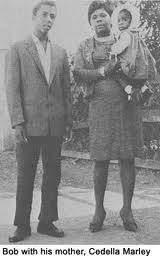 Bob Marley & his mother Cedella Booker