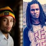 Jo Mersa Marley (left) & Daniel Bambaata Marley