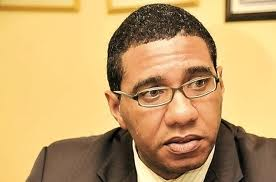 Opposition Leader Andrew Holness