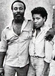 "Harry ""J"" Johnson & Sheila Hylton in 1982"