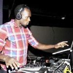 Usain Bolt @ the controls at Tracks & Records