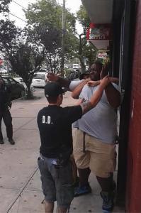 Eric Garner in chokehold