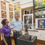 President Obama on tour @ The Bob Marley Museum