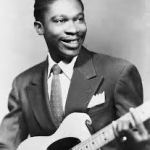 B.B King in younger days