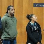 Jawara appears before the judge
