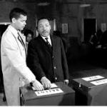 Julian Bond & Dr. Martin Luther King