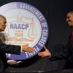Julian Bond & President Barack Obama