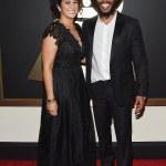 Ziggy Marley & wife