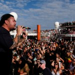 J Boog performs on the Welcome to Jam Rock Reggae Cruise