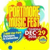 THE PORTMORE MUSIC FESTIVAL MAKES IT DEBUT ON THURSDAY, DECEMBER 29!