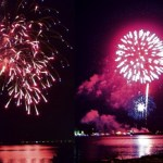 Fireworks at the Kingston Waterfront