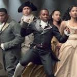"""The cast of the Broadway hit """"Hamilton"""""""