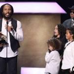 Ziggy Marley accepting his 11th Grammy Award!