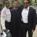 Nico & his parents Lauryn Hill and Rohan Marley