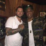Jay-Z and Chris Tavaris Finson