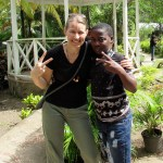 Helena Hennighausen, U.S. Director for South Whidbey nonprofit Partners for Youth Empowerment, visited the organization's Jamaica camp earlier this year.