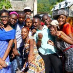Jamaican youth attending Partners for Youth Empowerment's Jamaica camp