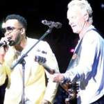 """Agent Sasco & Sting on stage @ """"Shaggy & Friends 2018"""""""
