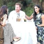 Prince Harry, Meghan and friend
