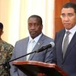 Prime Minister Andrew Holness announcing State Of Emergency