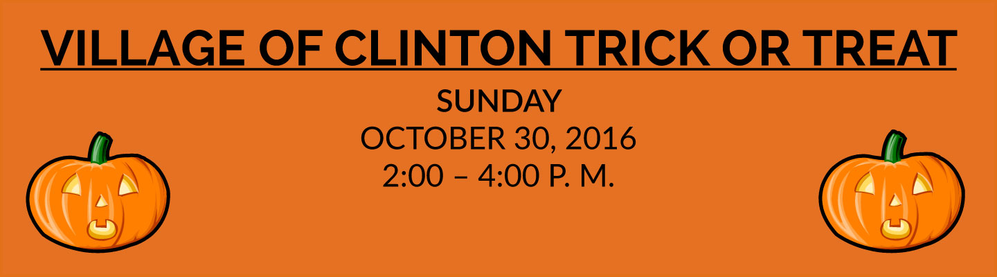 village-of-clinton-trick-or-treat
